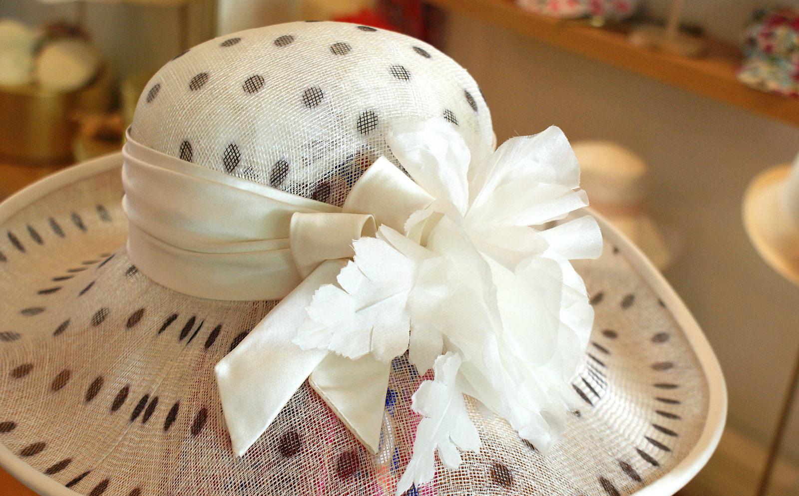 Anfertigung Hut für Braut von von Birke Breckwoldt