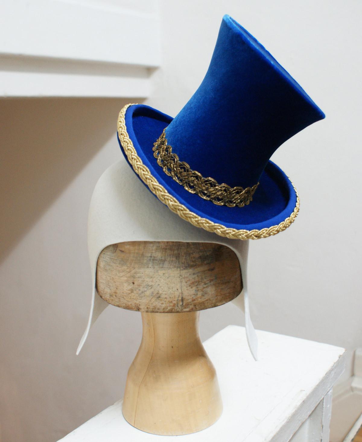 Handgefertigter Hut für Theater