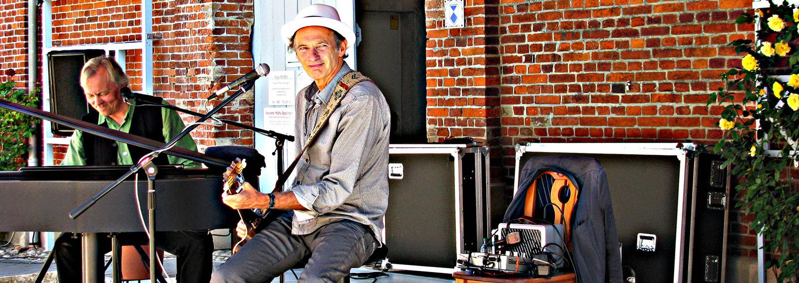 Anfertigung eines Hutes für den Musiker Abi Wallenstein der Hutmacherin Birke Breckwoldt