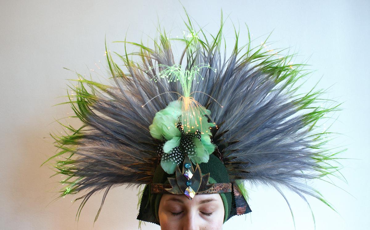 Kopfschmuck für Aida Utopia von Birke Breckwoldt