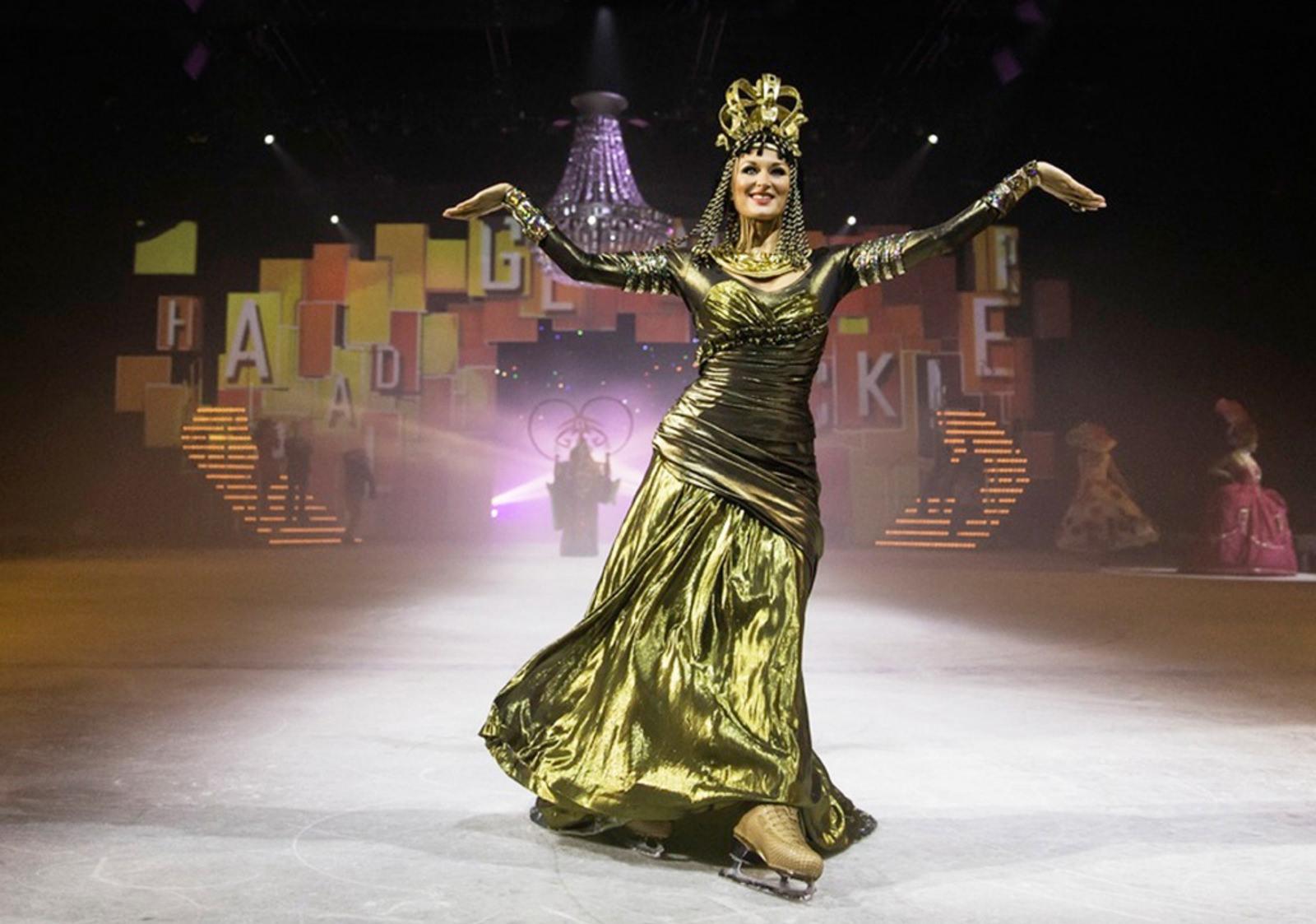 Kopfschmuck für Show Holiday on Ice Platinum von Birke Breckwoldt
